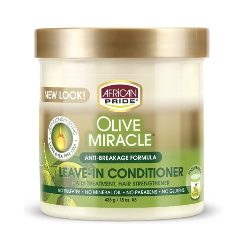 A/P Olive Miracle Leave In Conditioner Creme 15oz