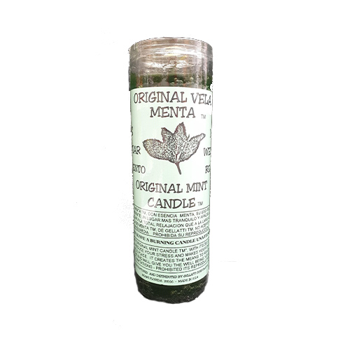 7 Day Candle Original Mint Menta