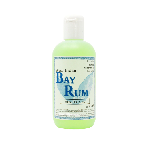 West Indian Bay Rum Mentholated 250ml